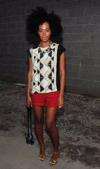 Solange Knowles fashion style 1