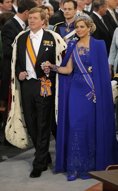 Inauguration King Willem Alexander I and Queen Máxima (30-04-2013)-03